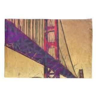 Golden gate bridge pillowcase