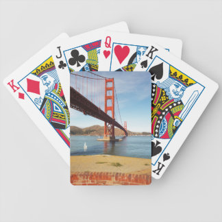 Golden Gate Bridge Playing from Fort Point Cards