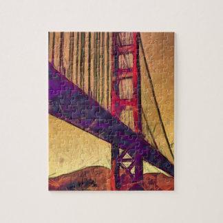 Golden gate bridge puzzles