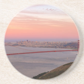 Golden Gate Bridge San Francisco at Sunrise Coaster