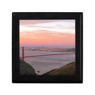 Golden Gate Bridge San Francisco at Sunrise Gift Box