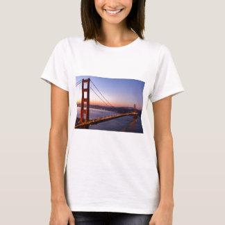 Golden Gate Bridge San Francisco at Sunrise T-Shirt