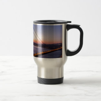Golden Gate Bridge San Francisco at Sunrise Travel Mug