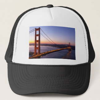Golden Gate Bridge San Francisco at Sunrise Trucker Hat