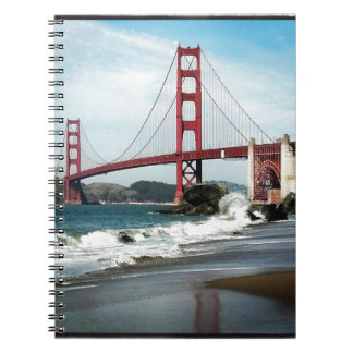 Golden Gate Bridge San Francisco CA Notebook