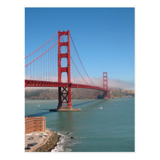 Golden Gate Bridge - San Francisco, CA Postcard