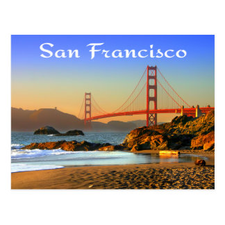 Golden Gate Bridge San Francisco CA Postcard