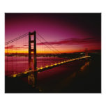 Golden Gate Bridge, San Francisco, California, 3 Photographic Print