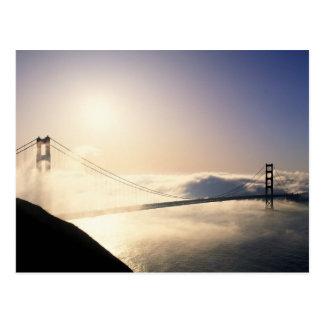 Golden Gate Bridge, San Francisco, California, 4 Postcard