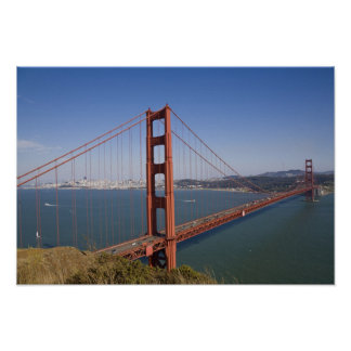 Golden Gate Bridge, San Francisco, California, 5 Poster