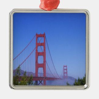Golden Gate Bridge, San Francisco, California, Metal Ornament