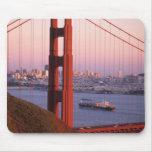 Golden Gate Bridge; San Francisco; California; Mouse Pad