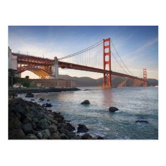 Golden Gate Bridge,  San Francisco,  California Postcard