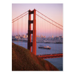 Golden Gate Bridge; San Francisco; California; Postcard