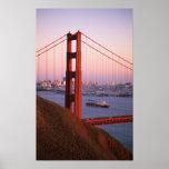Golden Gate Bridge; San Francisco; California; Poster