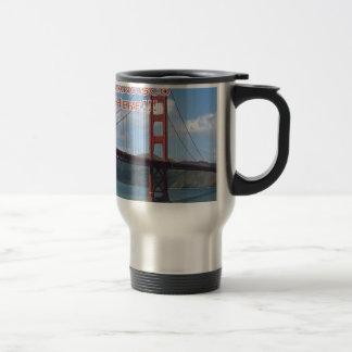 Golden Gate Bridge San Francisco California USA Travel Mug