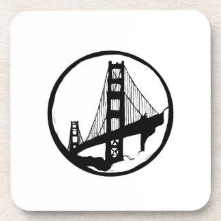 Golden Gate Bridge San Francisco coasters