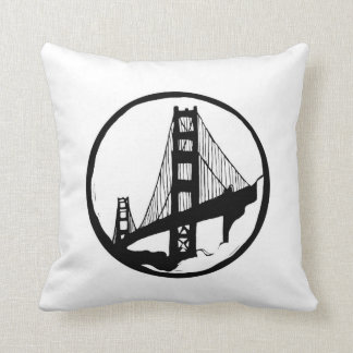 Golden Gate Bridge San Francisco Cushion
