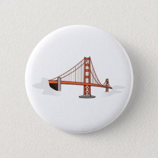 Golden Gate Bridge   San Francisco Destination 6 Cm Round Badge