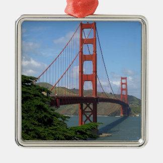 Golden Gate Bridge, San Francisco Metal Ornament