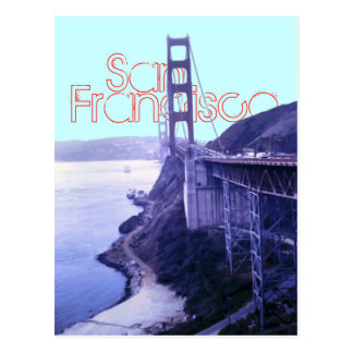 Golden Gate Bridge San Francisco Postcard