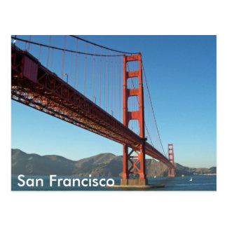 Golden Gate Bridge, San Francisco Postcard