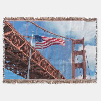 Golden Gate Bridge, San Francisco Throw Blanket