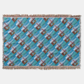Golden Gate Bridge San Francisco Throw Blanket