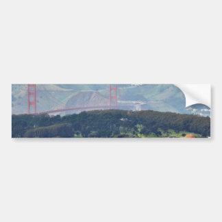Golden Gate Bridge Seen From Twin Peaks Bumper Sticker