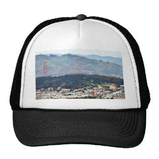 Golden Gate Bridge Seen From Twin Peaks Mesh Hat