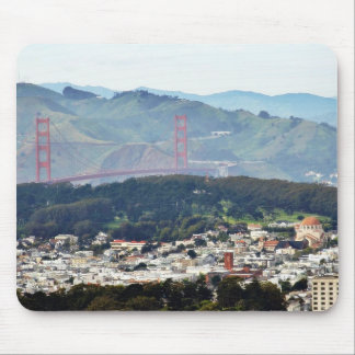 Golden Gate Bridge Seen From Twin Peaks Mousepad