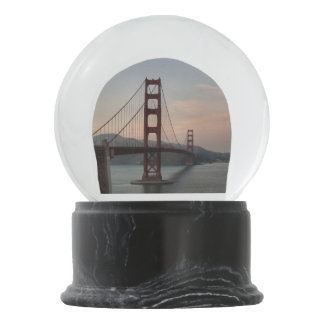 Golden Gate Bridge Snow Globe