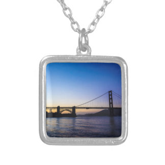 Golden Gate Bridge Sunset Necklace