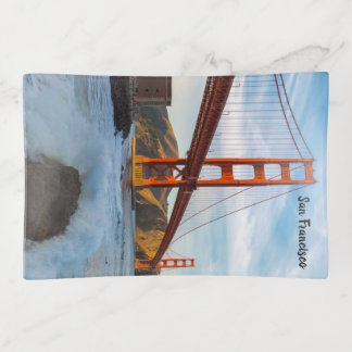 Golden Gate Bridge trinket tray