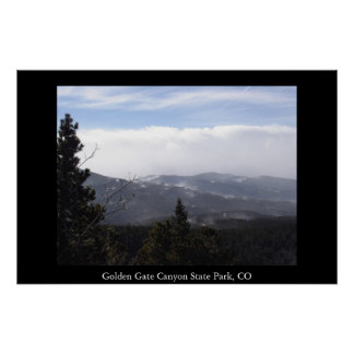 Golden Gate Canyon State Park Poster