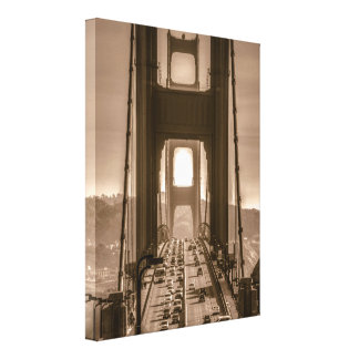 Golden Gate Due South Canvas Print
