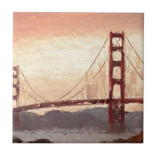Golden Gate Inspiration Tile
