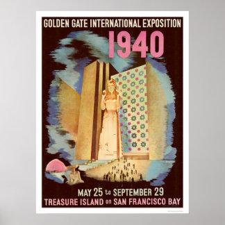 Golden Gate International Exposition 1940 Poster