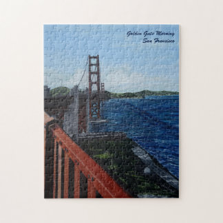 "Golden Gate Morning Puzzle, 11"" x 14"" Jigsaw Puzzle"