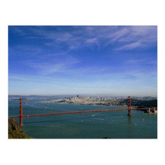 Golden Gate Panoramic postcard