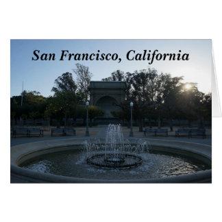 Golden Gate Park Music Concourse #3 Card