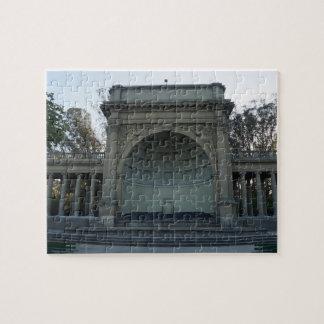 Golden Gate Park Music Concourse #4 Jigsaw Puzzle
