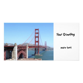 Golden Gate Personalised Photo Card
