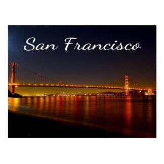 Golden Gate San Francisco California Postcard
