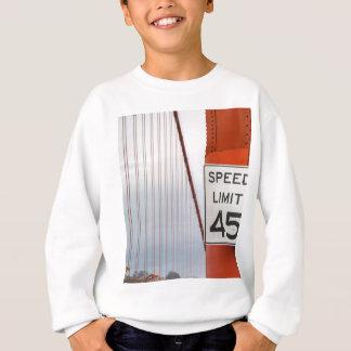 golden gate speed limit sweatshirt