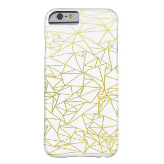 Golden Geo Triangle Design iPhone 6 Case