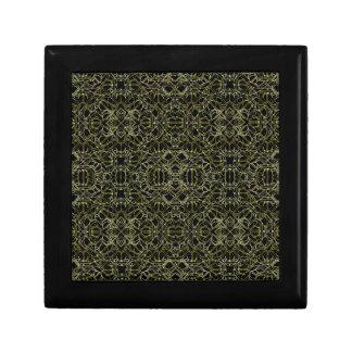 Golden Geo Tribal Pattern Gift Box
