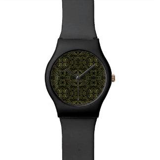 Golden Geo Tribal Pattern Watch