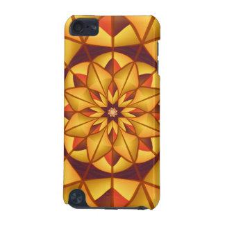 Golden geometric flourish iPod touch 5G cases
