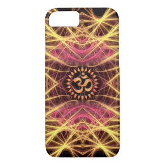 Golden Geometry Threads OM iPhone 7 Case